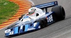 Formula 1 için tasarlanmış 6 tekerlekli araç