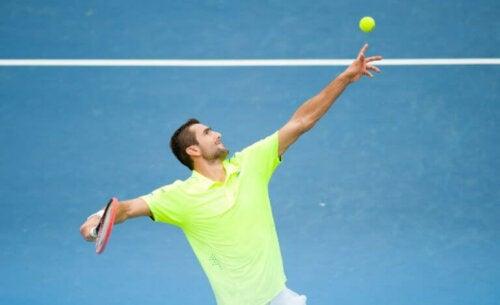 Cilic - Açık Oyun Tarzına Sahip Tenis Oyuncusu