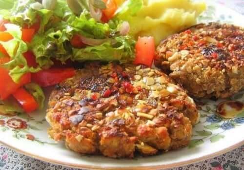 salata protein köfte