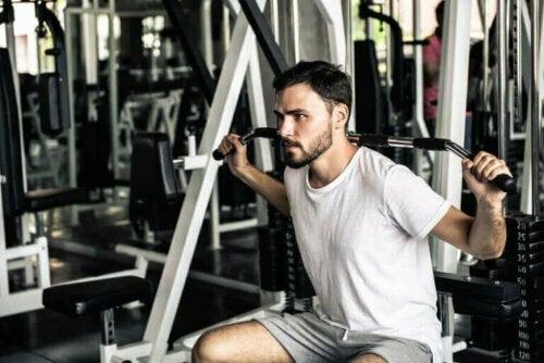 spor salonu antrenmanı erkek