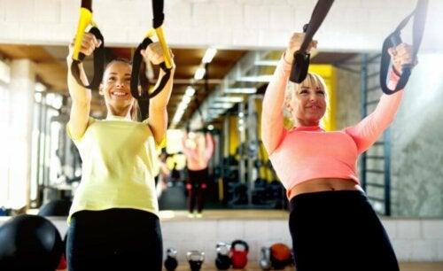 spor yapan kadınlar