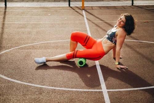 Bir Egzersiz Sonrası Ağrılı Kasları Rahatlatmak