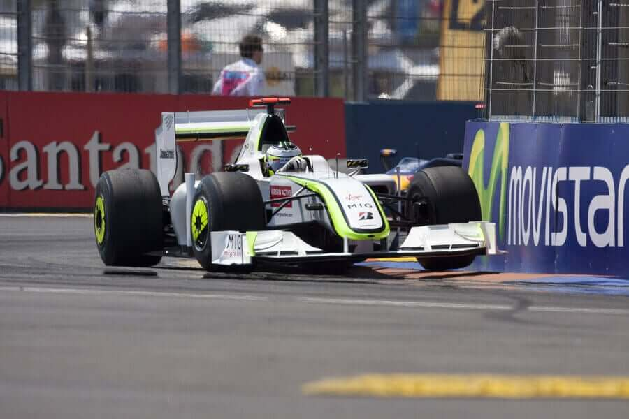 Brawn GP takımı dereceleri.