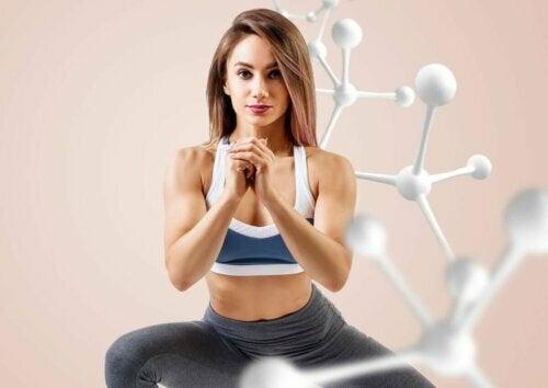 body combat kadın sporcu