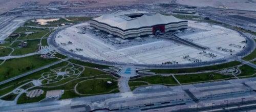 Al Bayt Stadyumu.
