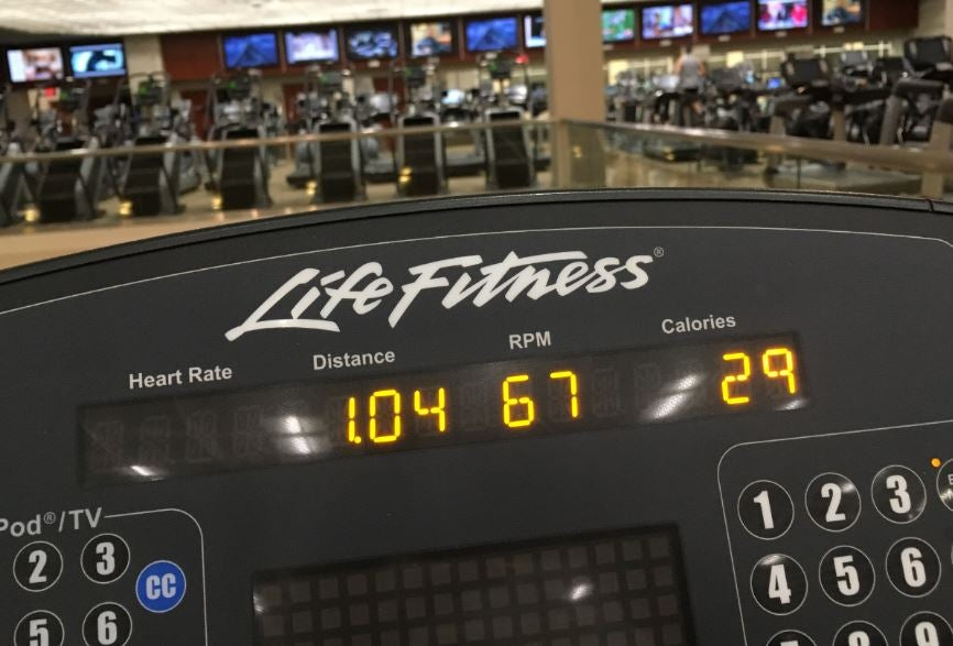 Controllers on Cardio Machines
