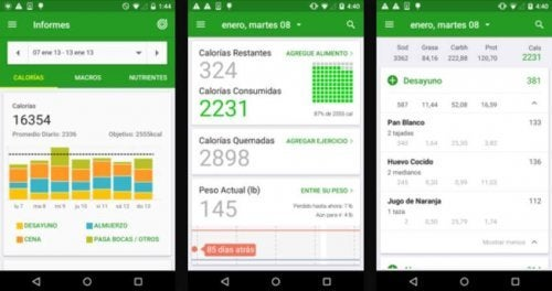 fatsecret app to count calories