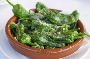 Padron-style peppers