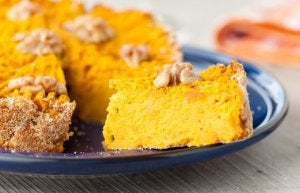 Piece of pumpkin cake.