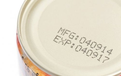 Dates expiration preferred by canned food