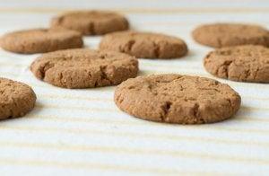 Alternative desserts: oatmeal cookies