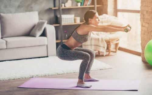 Home Workout Routine: Tone Your Glutes and Legs