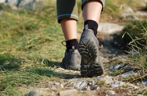 Pick the right kind of footwear for hiking.