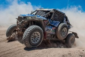 UTV in Dakar Rally.