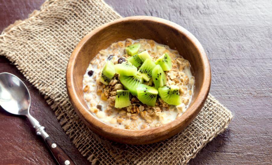 Kiwi porridge