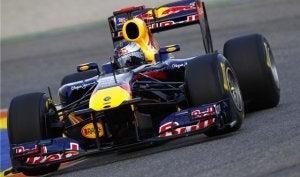 Formula One car.