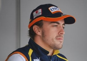 Spanish Formula One driver: Alonso.