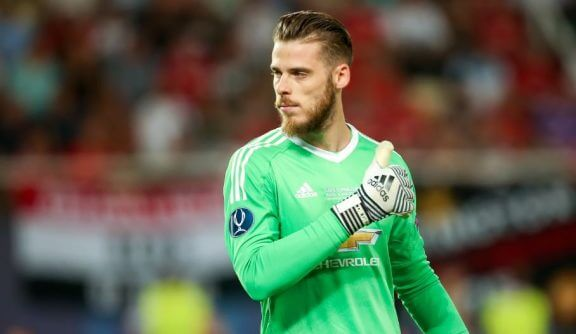 David de Gea: best goalkeeper in the world