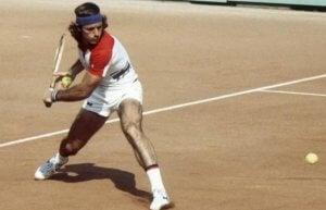Guillermo Vilas the best Argentine tennis player.