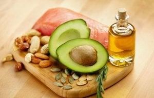 Types of fatty acids.