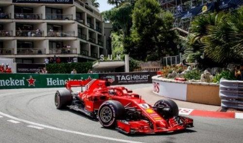 The Famous Corners of the Circuit de Monaco