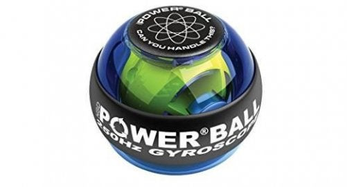 Use the Power Ball to strengthen muscles and joints