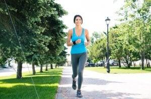 moderate exercise, aerobic exercise
