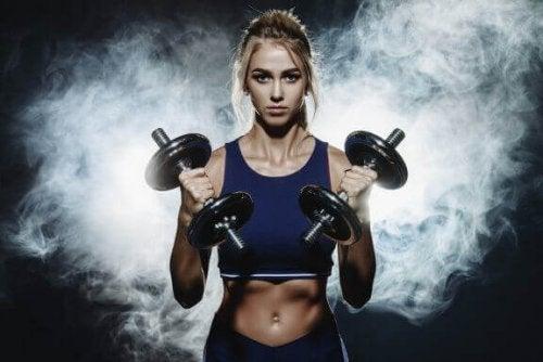 Female Bodybuilding: types and training