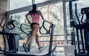 Best cardio machines: treadmill.