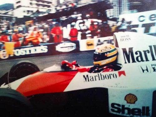 Senna was world champion in 1990.