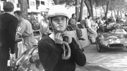 Italian Maria Teresa de Filippis was the first woman to compete in a Formula One race.
