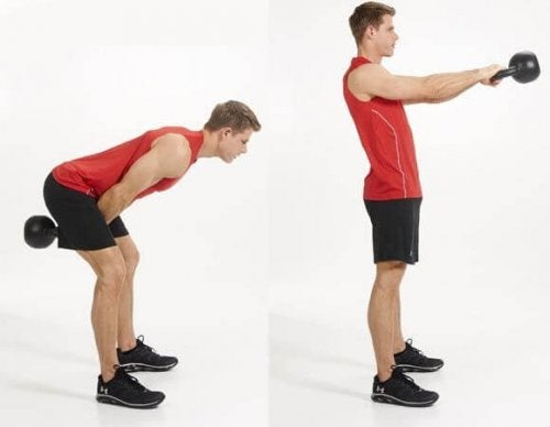 abdominal swings