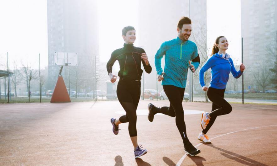 athletes running endorphins release