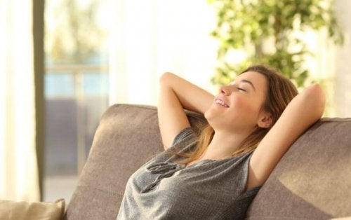 Endorphins can make you feel more relaxed.