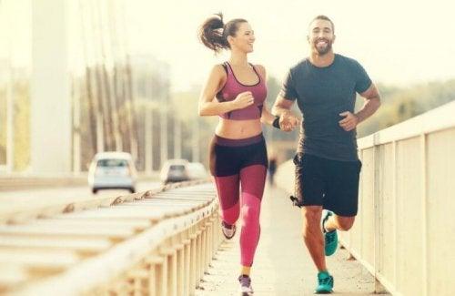 Run to increase the basal metabolic rate