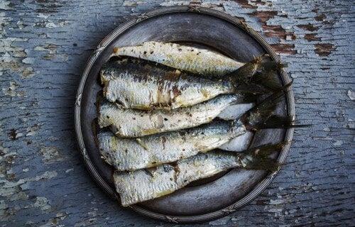 Omega 3 in fish