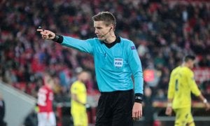 Referee mistakes in soccer.