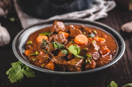 Protein-packed stews veal