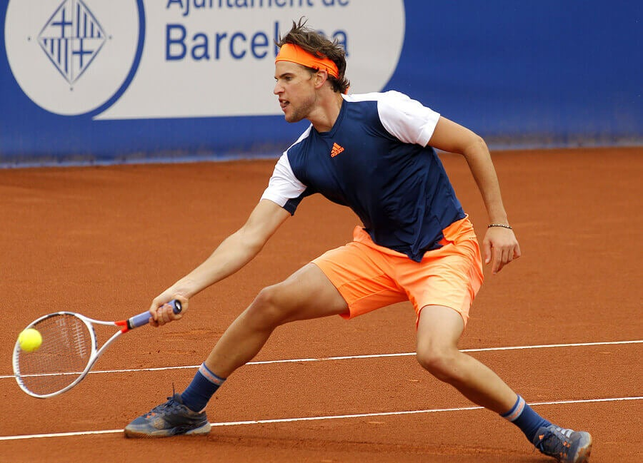 Dominic Thiem Young Talent With A Powerful Forearm And A