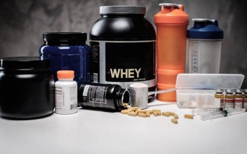 Whey protein and other supplements for athletes