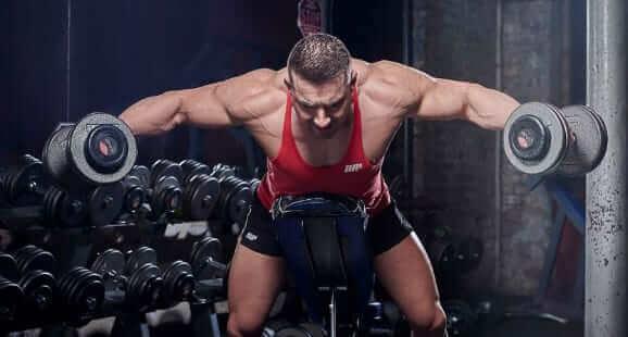 shoulder dumbbells rear