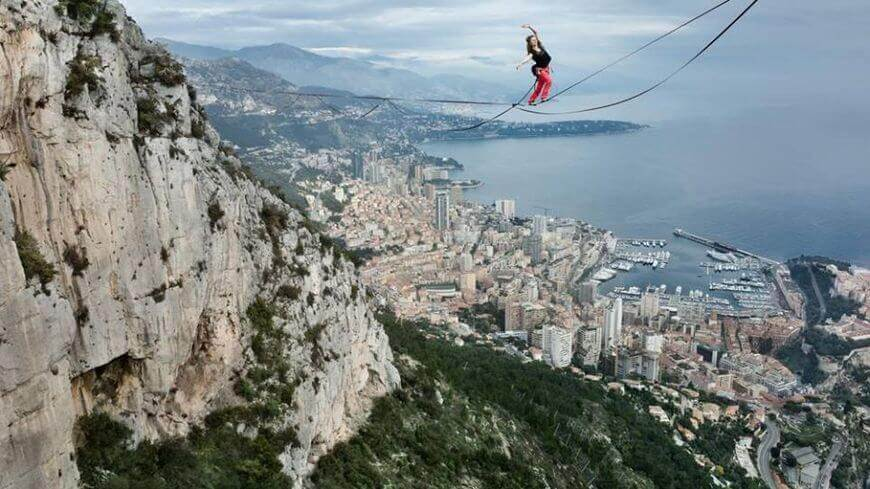 extreme sports highline