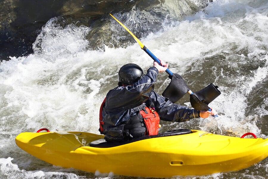 extreme sports kayak