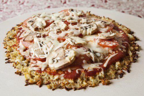 healthy pizza cauliflower
