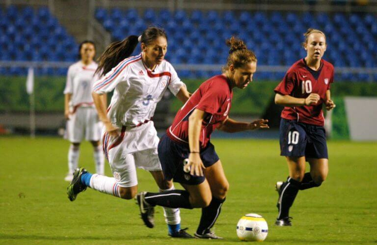 Two teams playing in a previous Women s World Cup