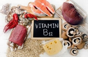 lacking vitamin b12 can cause several types of anemias