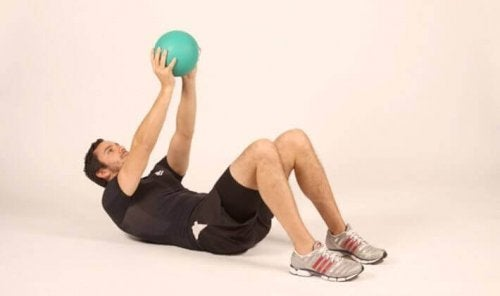 Medicine balls are a great accessory for abdominal exercises.