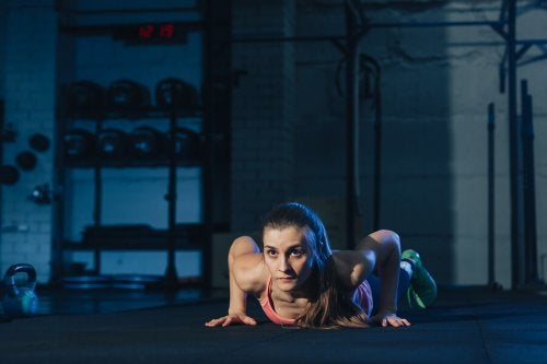 Almost all your muscles are put to work during a burpee.