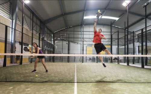Racket sports can improve your strength and flexibility.