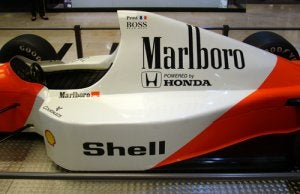 Ayrton Senna: the Mclaren driver who died in an accident